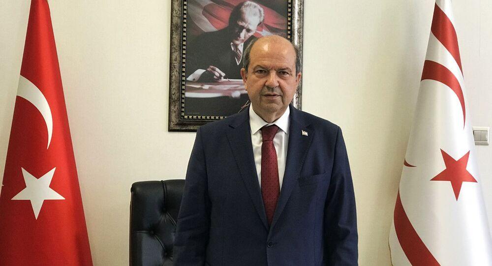 Kuzey Kıbrıs Başbakanı Ersin Tatar