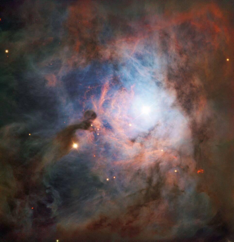 Orion, en meşhur ve güzel yıldız takımlarından biri.