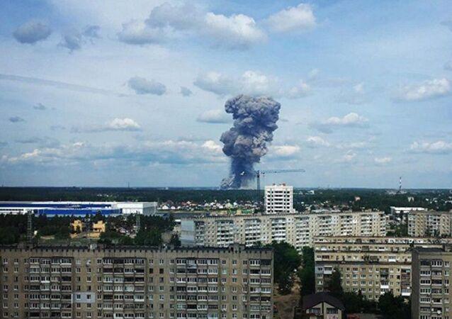 Rusy'da TNT fabrikalasında patlama