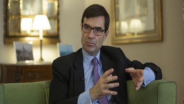 İspanya'nın Ankara Büyükelçisi Juan Gonzalez-Barba - Sputnik Türkiye