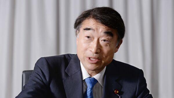 Japonya'nın Çalışma ve Sağlık Bakanı Takumi Nemoto - Sputnik Türkiye