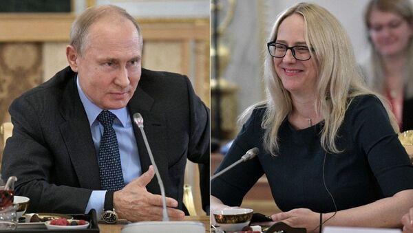 Putin'den ABD'li gazeteciye judo teklifi - Sputnik Türkiye