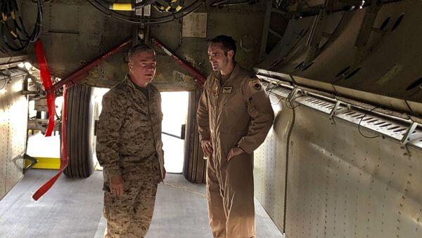 Amerika Merkez Kuvvetler Komutanı KorgeneralFrank McKenzie - Sputnik Türkiye