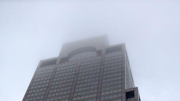 New York'ta bir helikopter 54 katlı ofis binasının çatısına çarptı - Sputnik Türkiye