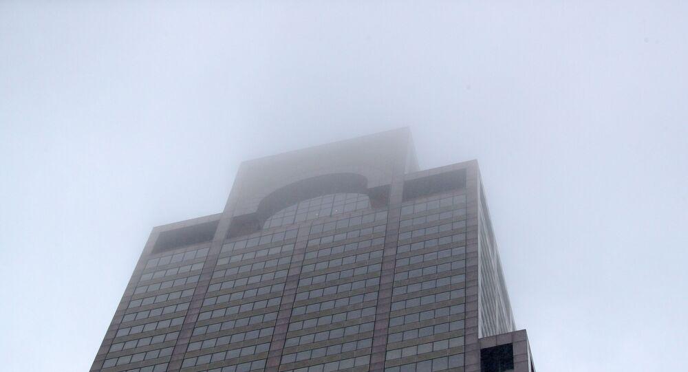 New York'ta bir helikopter 54 katlı ofis binasının çatısına çarptı