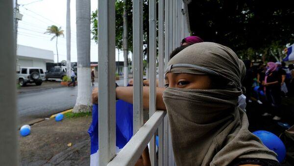 Nikaragua, protesto - Sputnik Türkiye