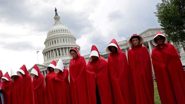 ABD kürtaj yasağı protestoları - Sputnik Türkiye