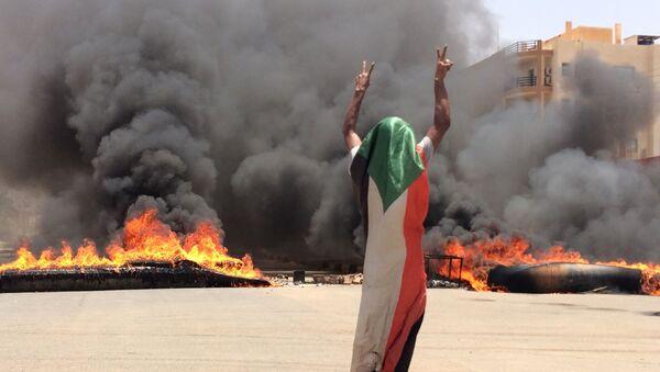 Sudan protestolar  - Sputnik Türkiye