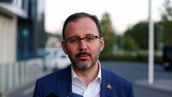 Gençlik ve Bpor BakanıMehmet Muharrem Kasapoğlu - Sputnik Türkiye
