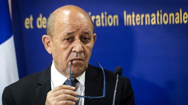 Jean-Yves Le Drian - Sputnik Türkiye