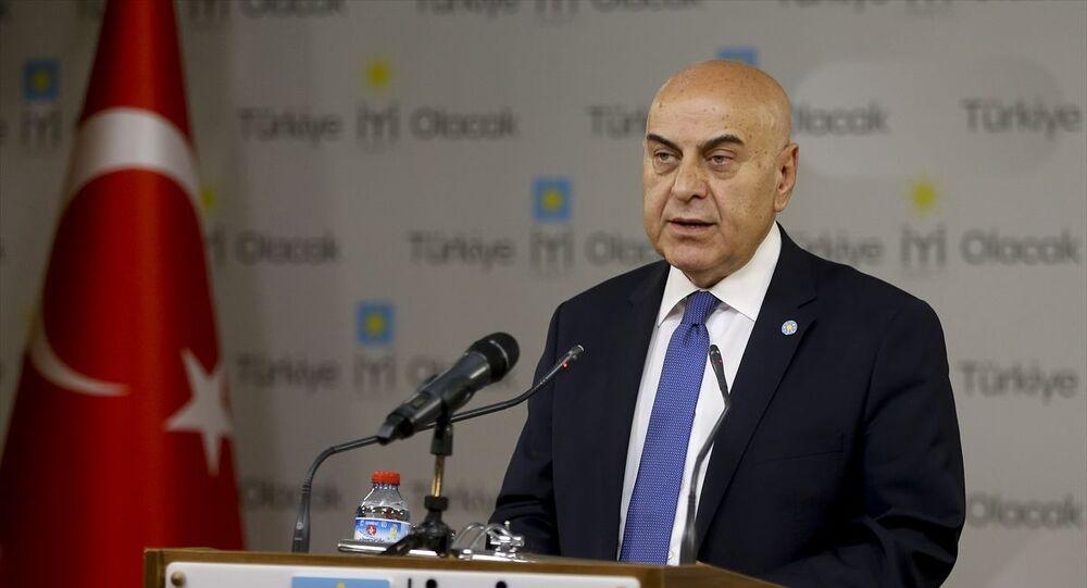 İYİ Parti Genel Sekreteri ve Parti Sözcüsü Cihan Paçacı
