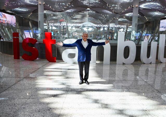 AK Parti İstanbul Büyükşehir Belediye Başkan Adayı Binali Yıldırım,