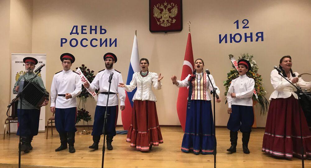 Rusya Günü, Rusya'nın Ankara Büyükelçiliği'nde düzenlenen resepsiyonla kutlandı.