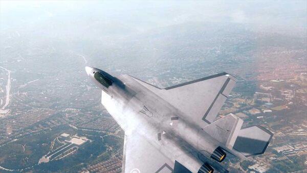 TUSAŞ, 'Milli Muharip Uçağı'nın birebir modelini ilk kez Uluslararası Paris Airshow'da görücüye çıkaracak. - Sputnik Türkiye