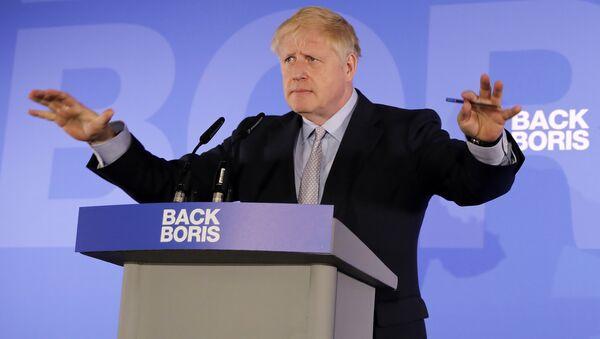 İngiltere - eski Dışişleri Bakanı Boris Johnson  - Sputnik Türkiye