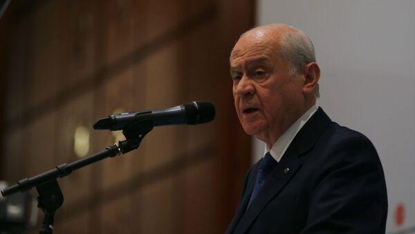Milliyetçi Hareket Partisi (MHP) Genel Başkanı Devlet Bahçeli  - Sputnik Türkiye