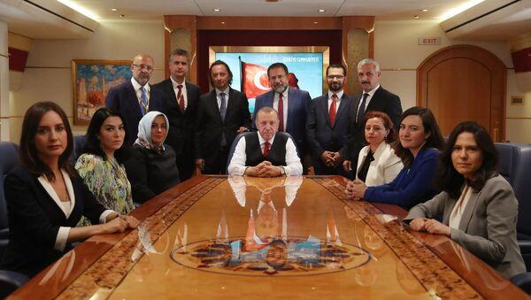 Erdoğan - Tacikistan seyahati - Sputnik Türkiye