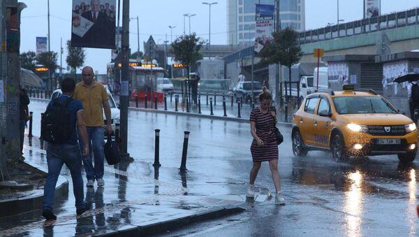İstanbul - yağmur - Sputnik Türkiye
