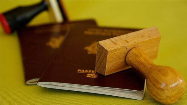 Pasaport – mühür  - Sputnik Türkiye