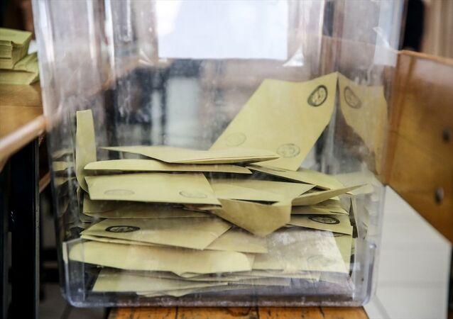 Sandık- Zarf- Seçim