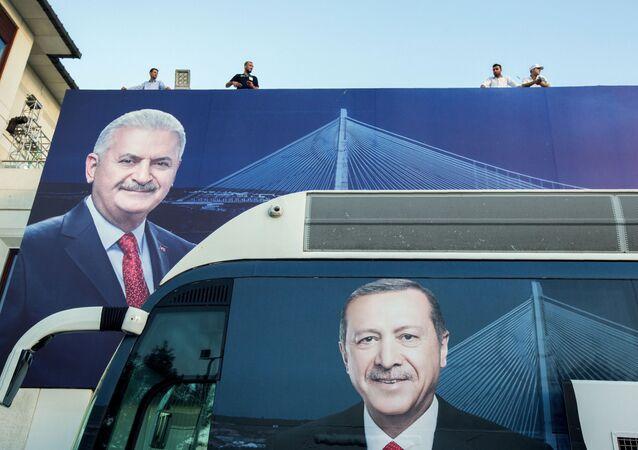 Binali Yıldırım- Recep Tayyip Erdoğan