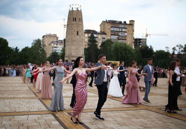 Rusya'nın şehirlerinde mezuniyet törenleri - Sputnik Türkiye