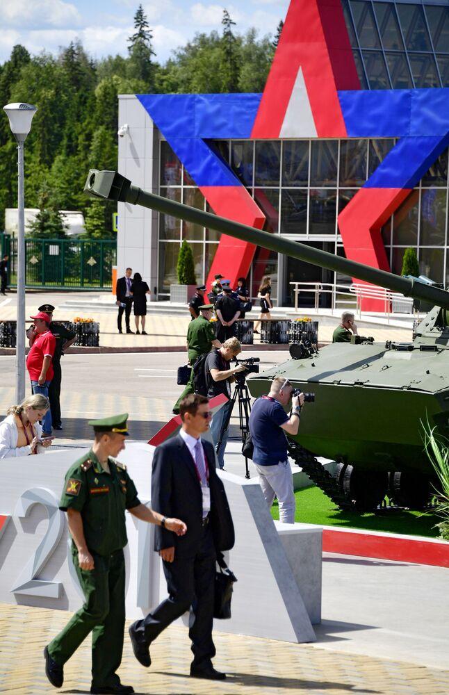 Moskova bölgesinde bugün başlayan ARMY-2019  Askeri Teknik Forumu'na 120 ülkenin askeri heyetlerinin katılması bekleniyor.