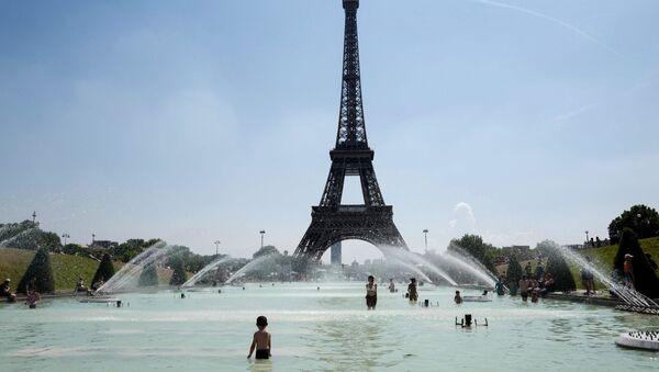 Fransa, Paris, sıcak hava - Sputnik Türkiye