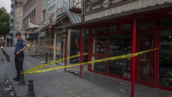 Ankara'da saldırıya uğrayan gece kulübü - Sputnik Türkiye