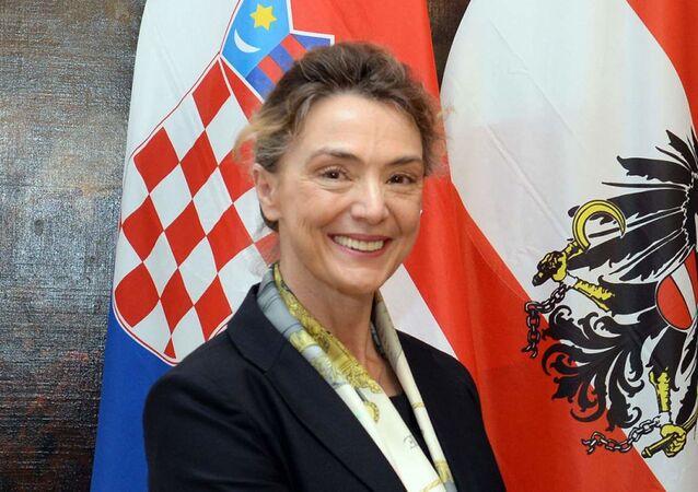 Türkiye'nin de üyesi olduğu Strazburg merkezli Avrupa Konseyinin Genel Sekreterliğine Hırvatistan Dışişleri Bakanı Marija Pejcinovic Buric seçildi.