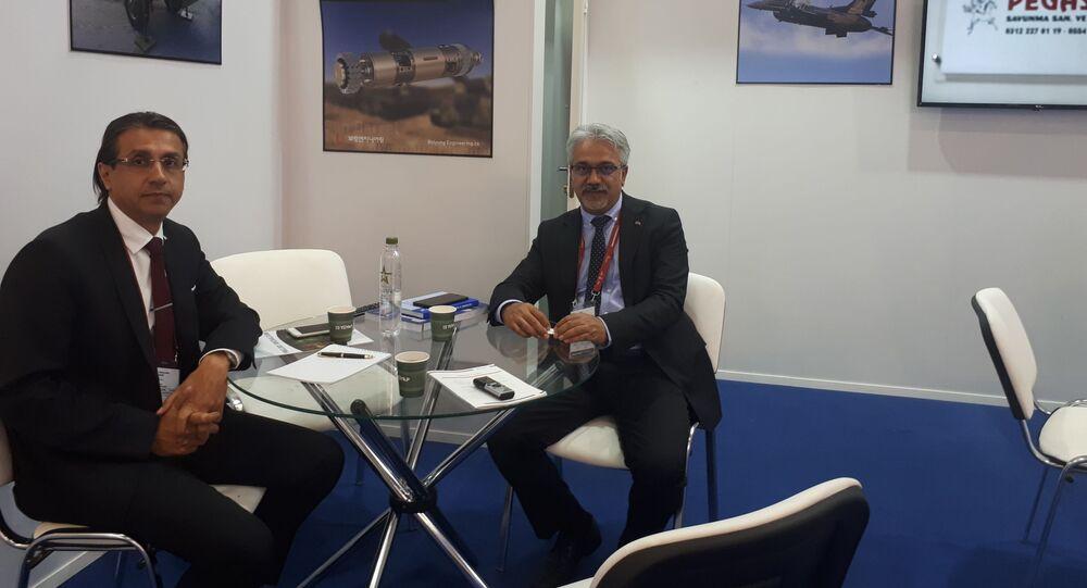 Pegasus Savunma A.Ş. İş Gelştirme Müdürü Ahmet Ceylan