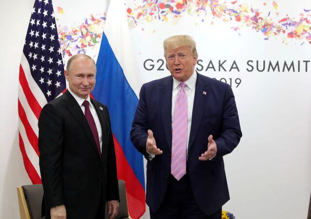 Vladimir Putin- Donald Trump