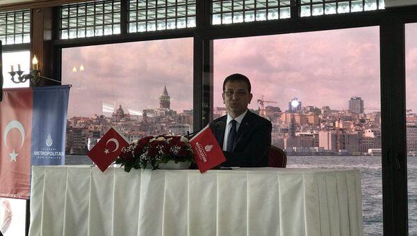 İmamoğlu: İstanbul'un St. Petersburg'la olan kardeş şehir sözleşmesini geliştirmeyi ve başka Rus şehirleriyle işbirliklerini zevkle soruştururum - Sputnik Türkiye