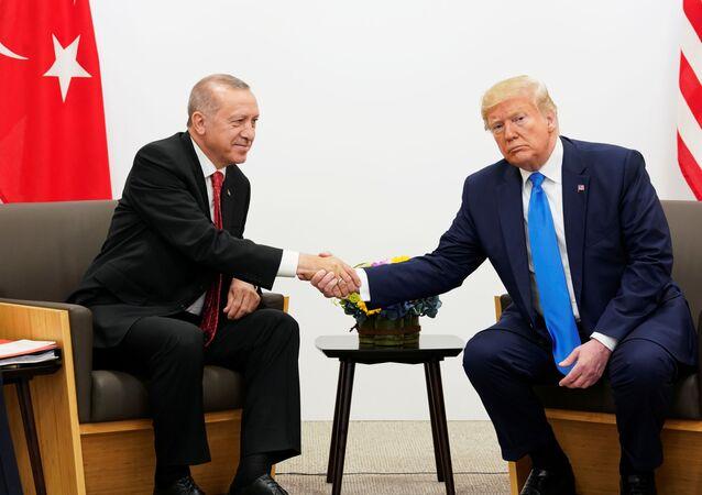 Recep Tayyip Erdoğan- Donald Trump