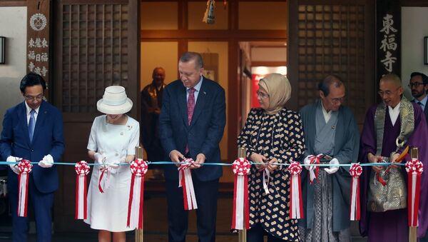Erdoğan, Japonya'da Ara Güler Sergisi'nin açılışını yaptı - Sputnik Türkiye