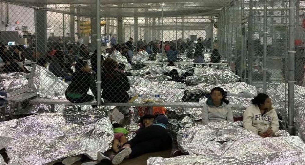 ABD - Meksika sınırı üzerinde kurulan mülteci kampları
