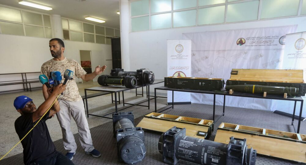 Libya- ABD yapımı silahlar