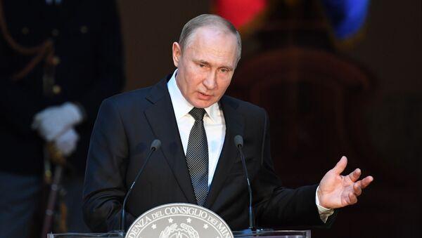 Vladimir Putin, İtalya - Sputnik Türkiye