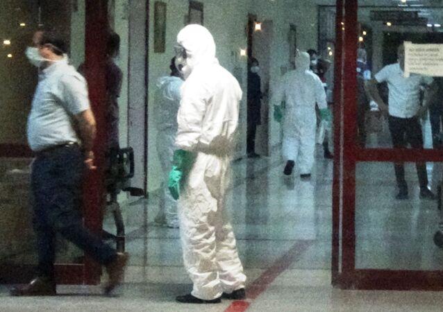 Diyarbakır'da kimyasal madde alarmı: Hastanenin acili kapatıldı