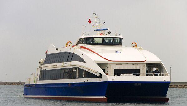 İDO - feribot - deniz otobüsü - Sputnik Türkiye