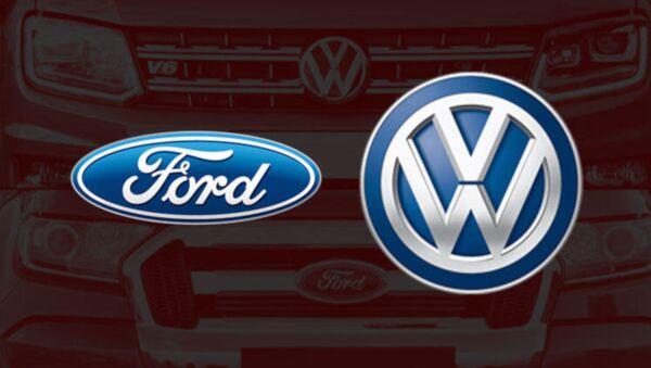 Volkswagen'den Ford ile 'otonom araçlar' ittifakına yeşil ışık - Sputnik Türkiye
