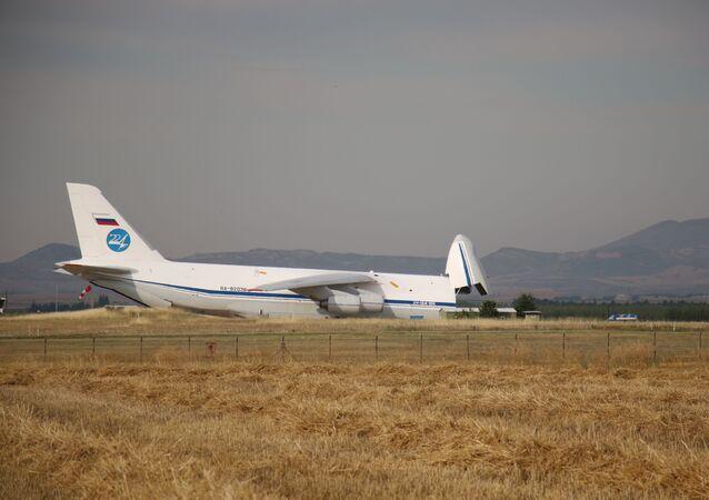 S-400 teslimatında beşinci uçak Mürted'e indi