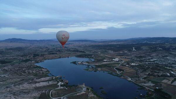 Frigya'da ilk sıcak hava balonu - Sputnik Türkiye