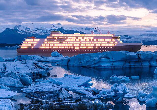 Rusya, Arktika bölgesine gidecek kruz gemileri inşa edecek