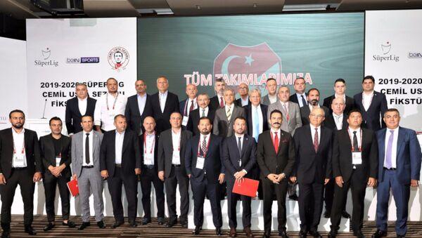 Süper Lig'de fikstür çekimi yapıldı - Sputnik Türkiye