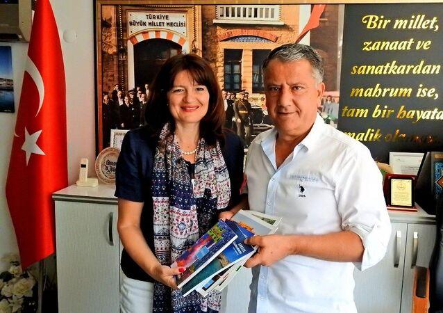 Yunanistan İzmir Başkonsolosu Argyro Papoulia