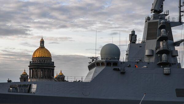 St. Petersburg'da Rusya Deniz Kuvvetleri Günü hazırlıkları - Sputnik Türkiye