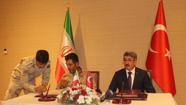 Türkiye-İran hudut güvenliği mutabakatı imzalandı - Sputnik Türkiye
