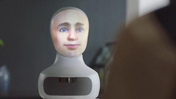 yapay zekâlı robot, iş görüşmelerinde adaylarla mülakat yapmaya başladı. - Sputnik Türkiye
