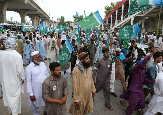 Pakistan'da protesto